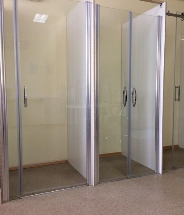 Gronixcomua душевые двери Gronix Pivot 700 мм 1 дверь
